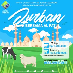 Daftar Harga Qurban