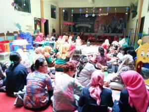 80 peserta menghadiri lepas sambut pengawas TK Kecamatan Makassar