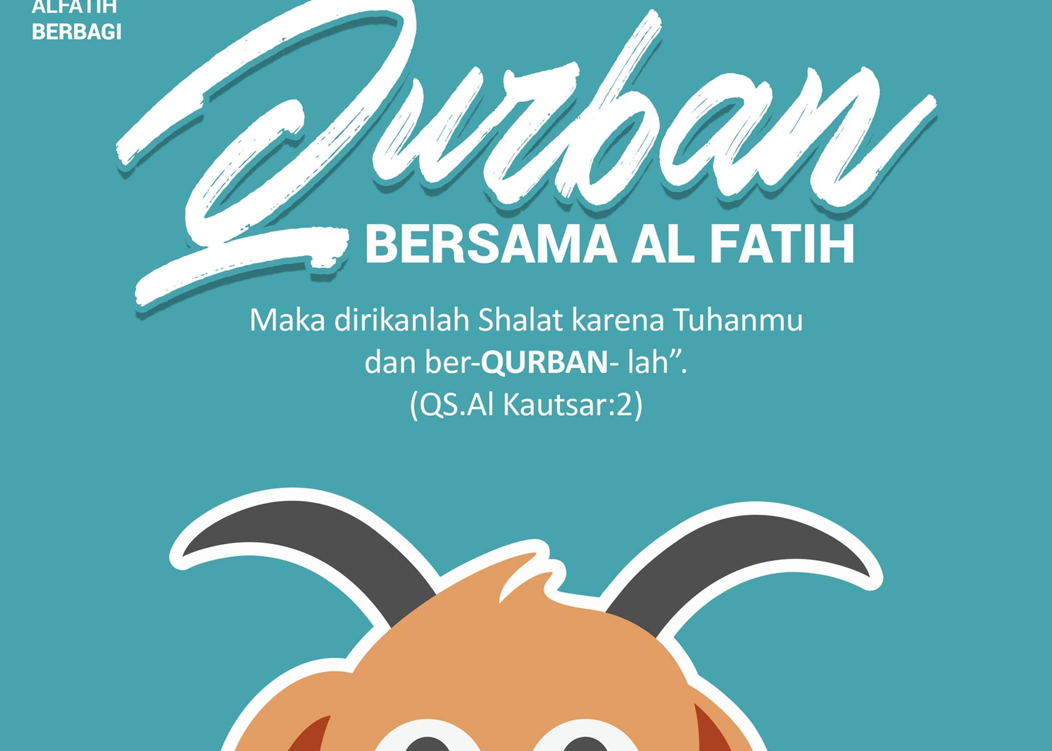 Al FATIH Berbagi Qurban