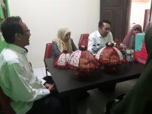 Ketua Yayasan Al Fatih bersama tim assesor