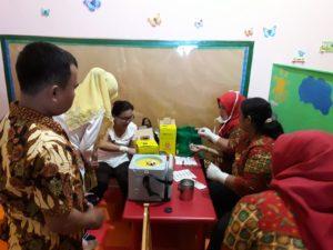 SIT AL fatih Makassar, galakkan Imunisasi Campak dan Rubella