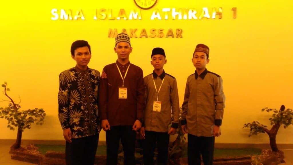[08:27, 2/8/2019] AF Dwiyana: [09:07, 2/8/2019] AF Dwiyana: Siswa SMA Al Fatih Juara di Olimpiade Al-Qur'an Athirah