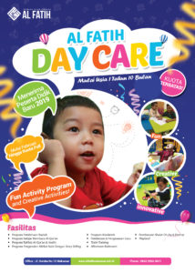 Brosur Day Care KB-TK IT Al Fatih Makassar Tahun 2019 2020