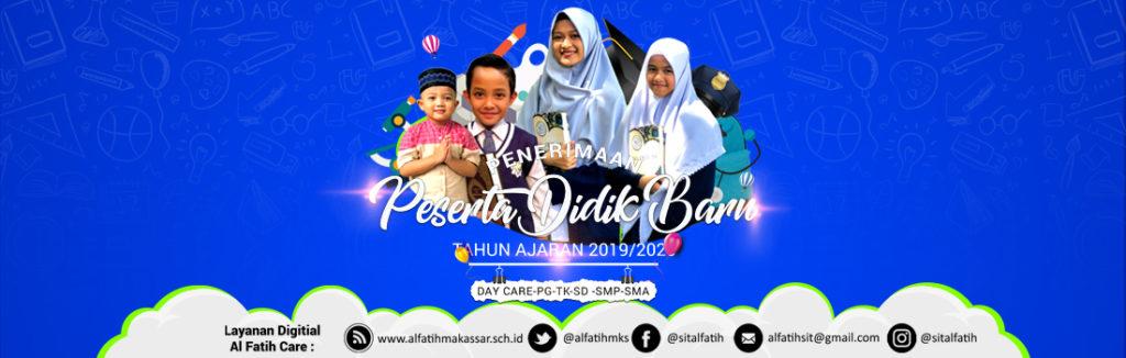 Desain Banner PPDB Online Sekolah Islam