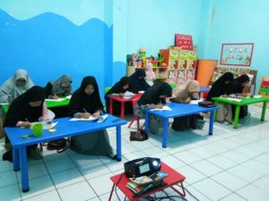 Guru TKIT Al Fatih Ikuti Ujian Kompetensi