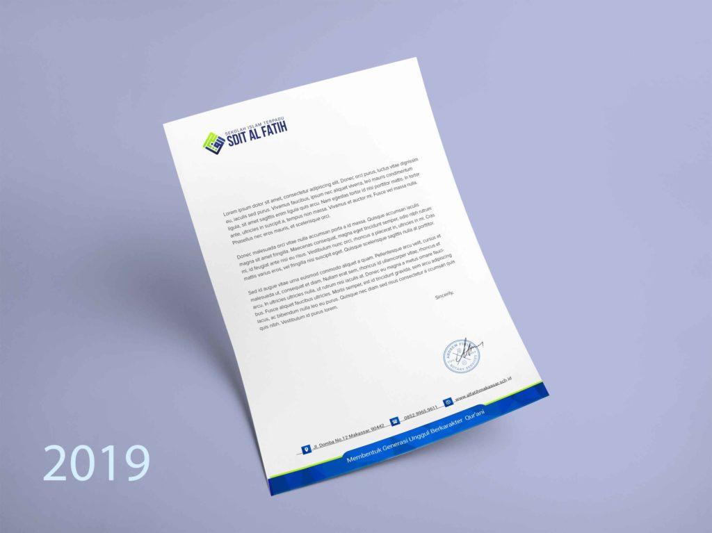 Letterhead Kop Surat 2018