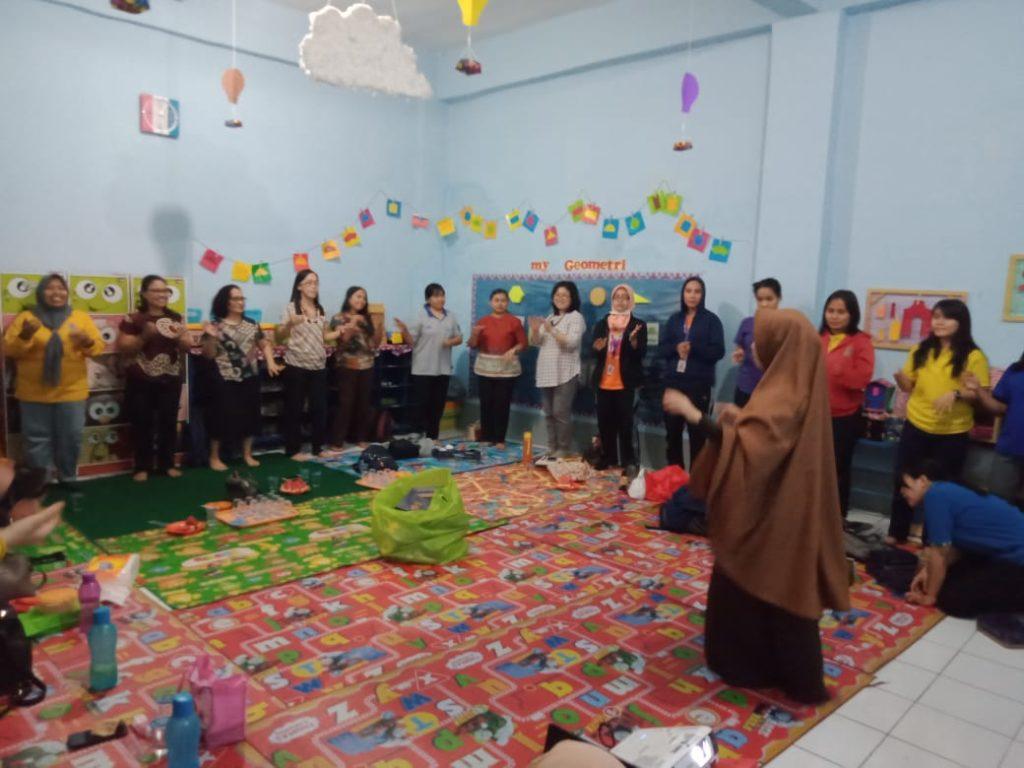 Sharing Ilmu di Pertemuan Gugus II Kecamatan Makassar
