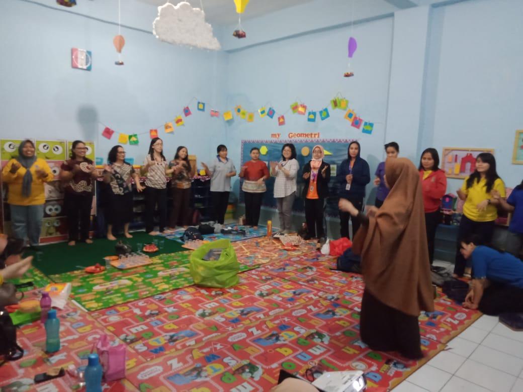 TKIT Al Fatih, Sharing Ilmu di Pertemuan Gugus II Kecamatan Makassar