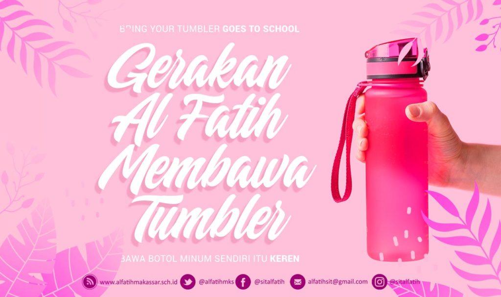 Gerakan Guru TKIT AL FATIH Membawa Misting dan Tumbler