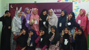 Dalam Menggapai Mahabbah Ilahi, SMP SMA IT Al Fatih Gelar Mabit Perdana 2020