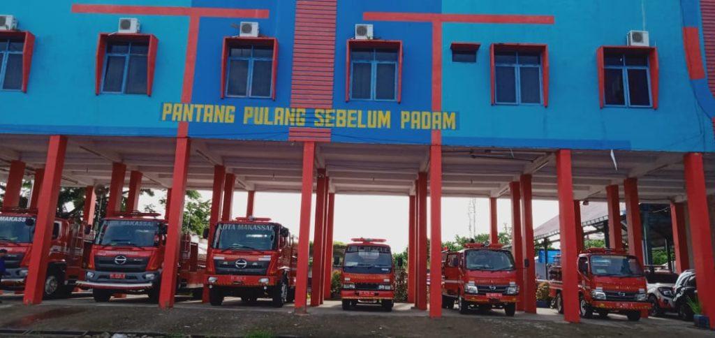 semboyan MABES DAMKAR Kota Makassar Pantang pulang sebelum padam