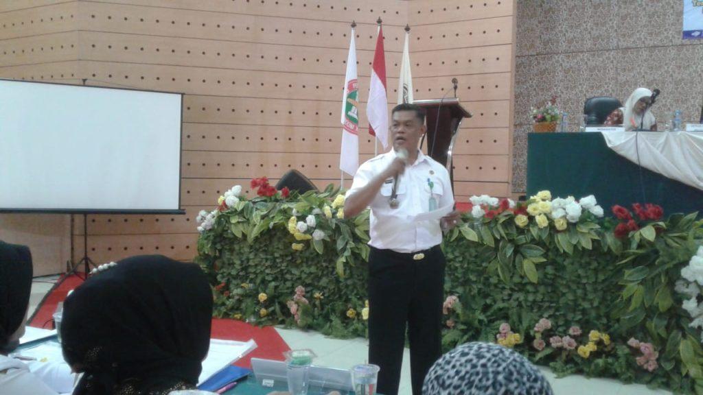 Bapak Dr.Pantja Nur Wahidin memberikan materi Paradigma Guru penggerak dan merdeka Belajar