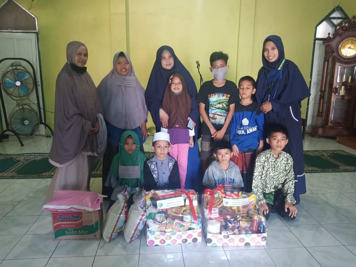 Meski Covid-19 TKIT Al Fatih Tetap Galakkan Ramadhan Berbagi