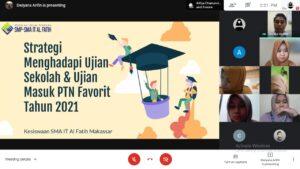 """Parent-Teacher Conference (PTC) SMP SMA IT Al Fatih Makassar """"Membangun Sinergi untuk Membentuk Generasi Unggul Mulai dari Keluarga Qur'ani"""""""