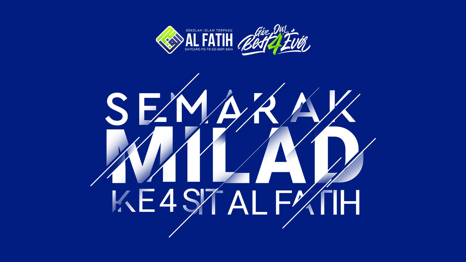 """Milad SIT Al Fatih""""Give Our Best 4ever"""" Banjir Hadiah, Hingga 15 Juta Rupiah"""